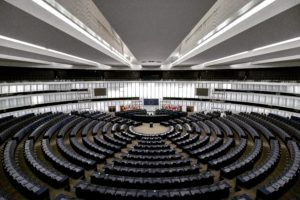 Parlamento europeo vuoto